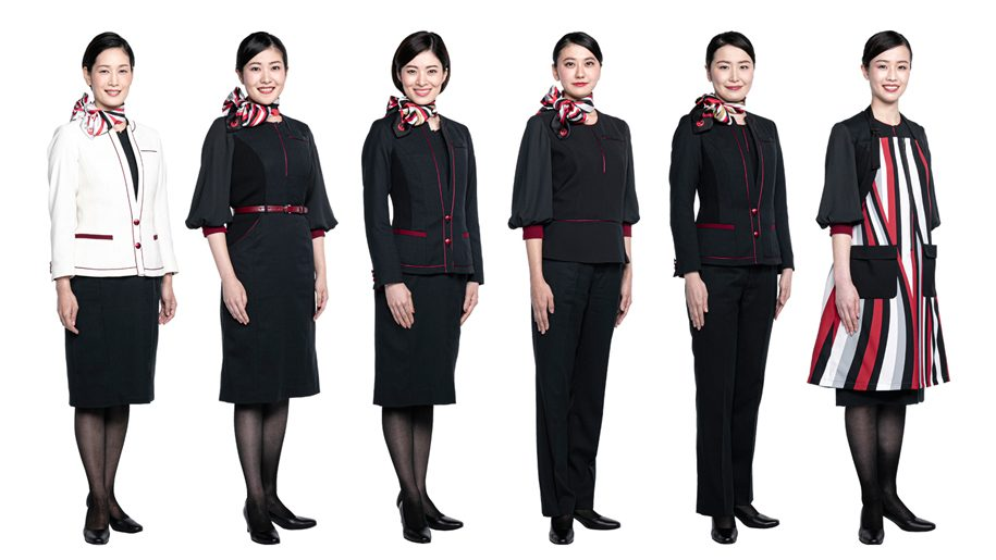 Japan Airlines unveils new uniforms for 2020 and special