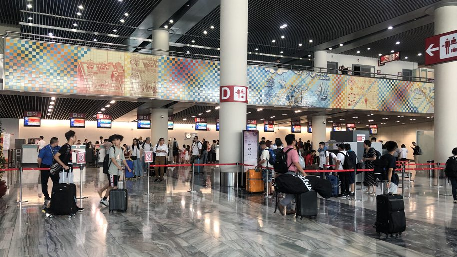 Macau Airport check-in counters to close 60 minutes before departure