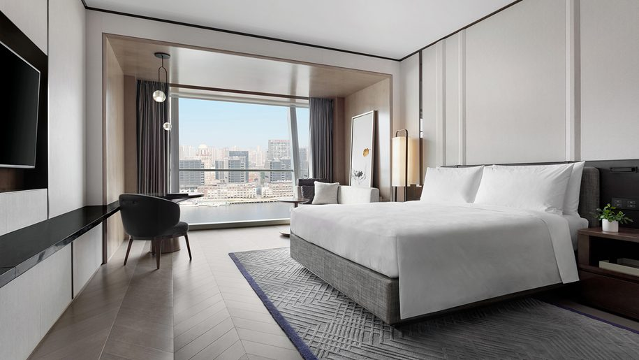China's first JW Marriott Marquis hotel opens in Shanghai