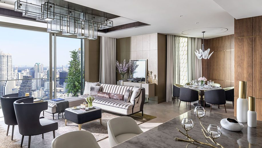 Mandarin Oriental opens its first branded residences in Bangkok