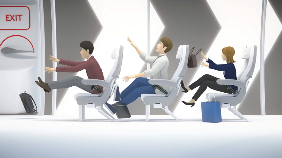 Japan Airlines launches new version of its safety video