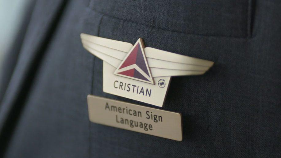 Delta identifies sign language-speaking staff