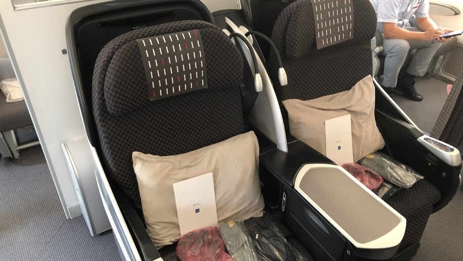 Marvelous Flight Review Japan Airlines Boeing 787 8 Hong Kong To Machost Co Dining Chair Design Ideas Machostcouk