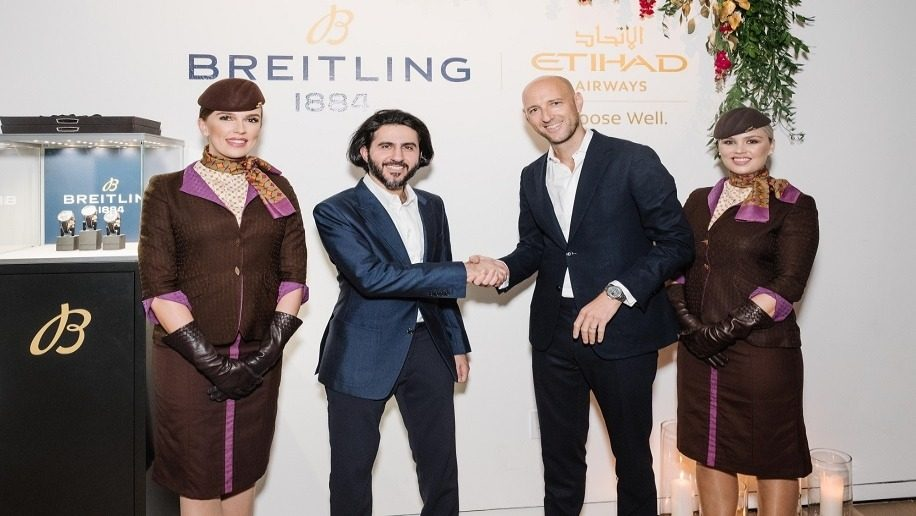 Breitling partners with Etihad