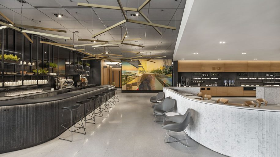 Air Canada opens new cafe lounge at Toronto airport