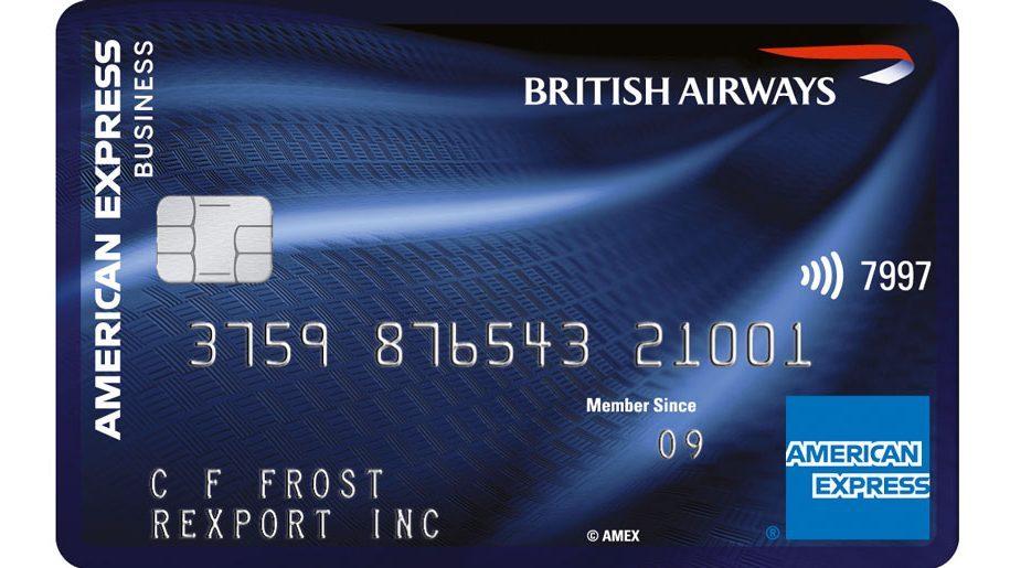 American Express Card >> British Airways Launches Amex Business Reward Credit Card