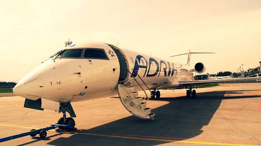 Adria Airways pede falência e cancela todos os voos