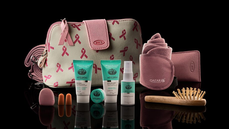 Qatar Airways rolls out limited edition amenity kits for this October