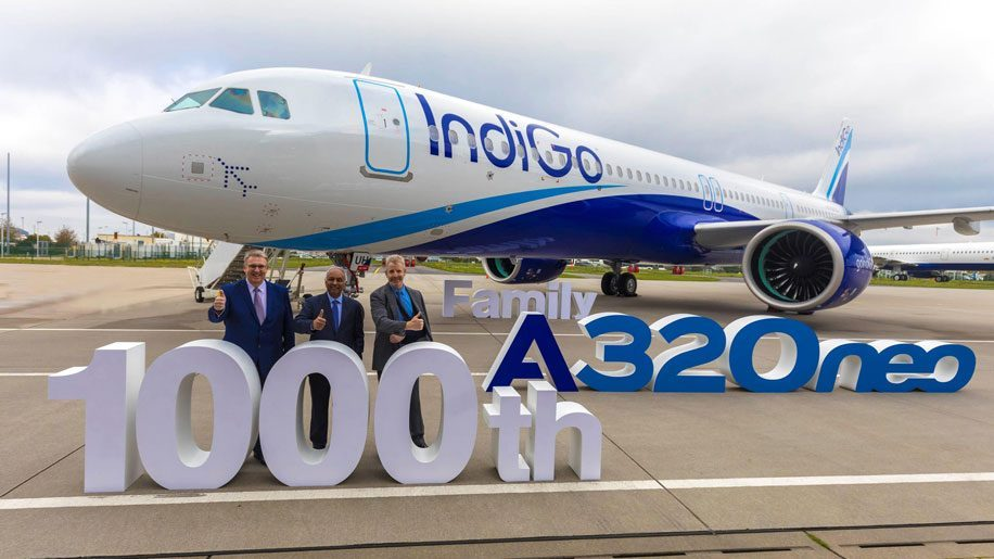Airbus delivers 1000th A320 neo Family aircraft