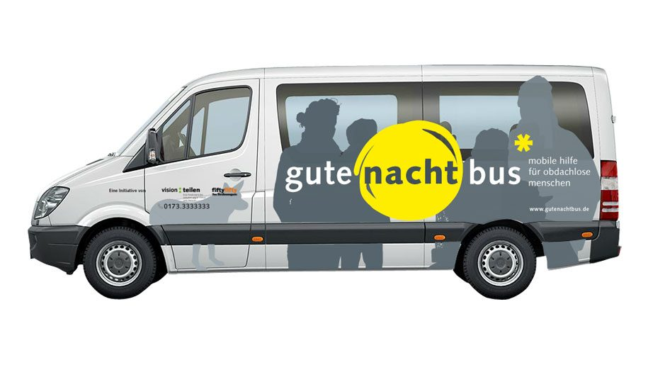 Intercontinental Dusseldorf pairs with the Gute Nacht bus for the homeless