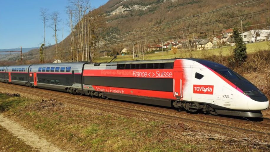 TGV Lyria to introduce double-decker trainsets