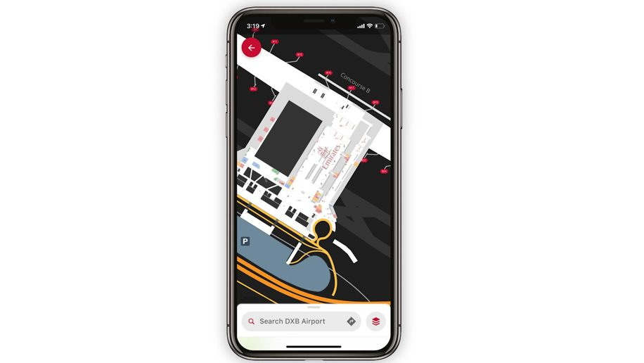 Emirates improves travel experience with 'Airport Maps ... on mobile al city map, alabama industry map, mobile airport logo, mobile airport mob, mobile school district map, mobile interstate 10 map, mobile network map, mobile airport mobile alabama, mobile airport parking,