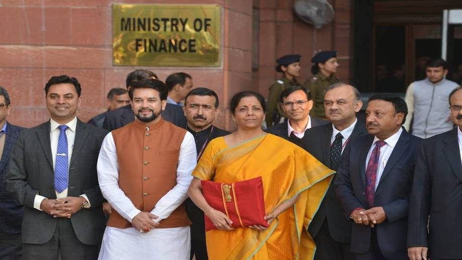 Foundation Of A 5 Trillion Economy In Budget Sitharaman
