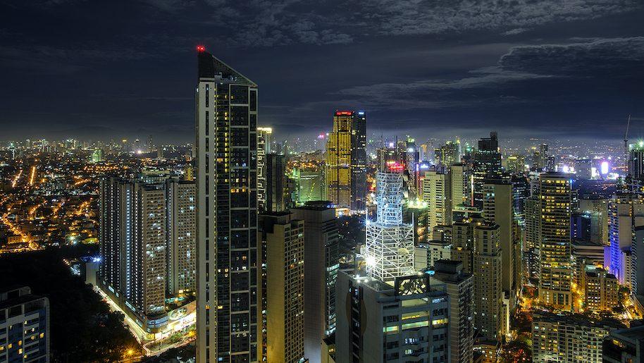 night sky in manila
